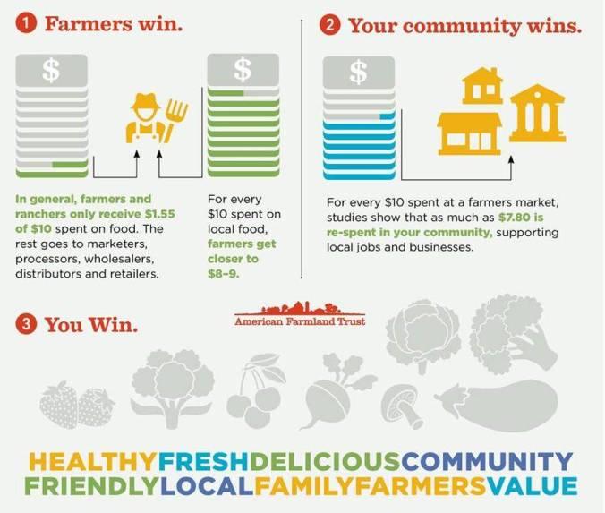american farmland infograhic